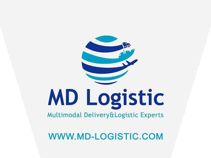 Animated video advertisement of the company MD Logistic.