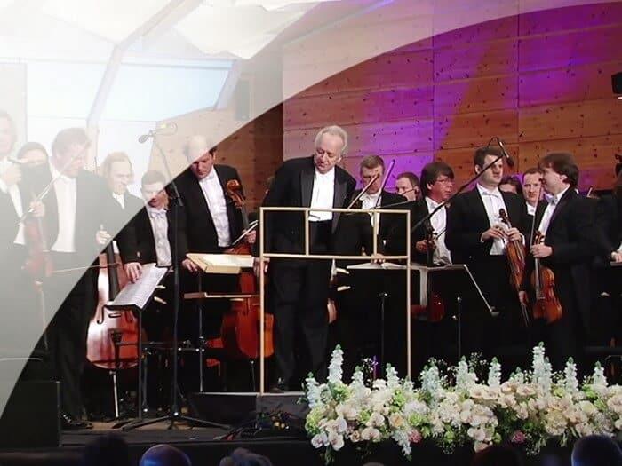 Музыкальный фестиваль «AMBER LIVE» в Юрмале. Видеосъемка концерта классической музыки.