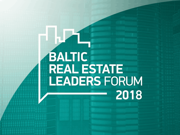 Baltic Real Estate Leaders Forum 2018