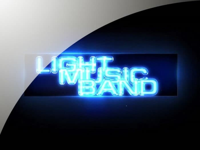 Light Music Band - Shooting of the concerts in Riga