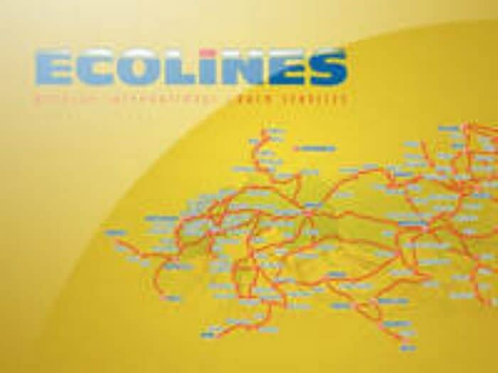 Видео презентация международной автобусной компании Ecolines