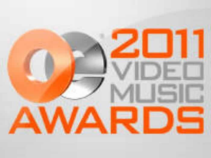 OE VMA 2011 - Production of music video
