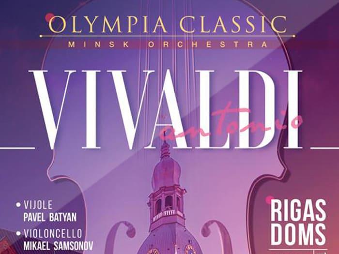 "Belarusian symphony orchestra ""Olympia Classic"" in Riga, Latvia"