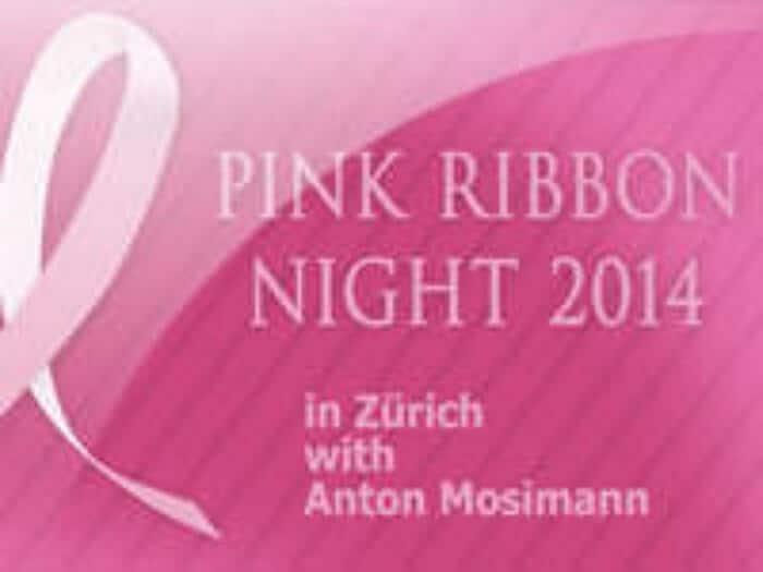 Starkoch Anton Mosimann, Jelena von Olnhausen, Zürich, Pink Ribbon Gala Night, 2014 - Video presentation