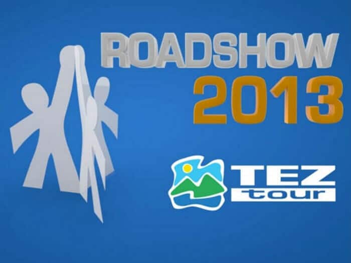 TezTour Road Show 2013 - Corporate video