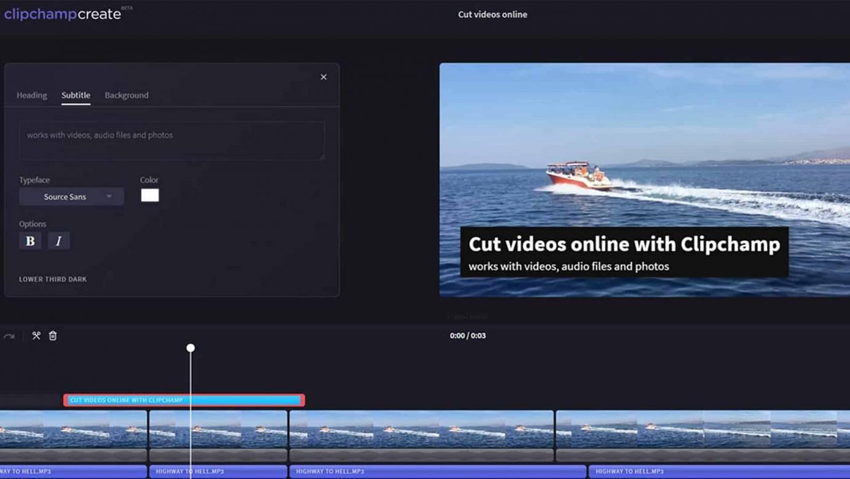 2018 08 01 split videos in clipchamp video editor